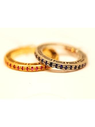 Кольца 2 шт  VERSACE Золото 750