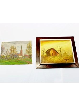 Две Картины Живопись