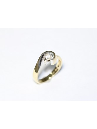 "Кольцо Золото 585"" Циркон"