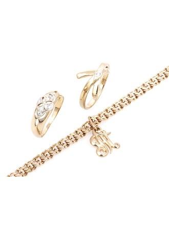 """Ювелирные украшения Золото 585"""" Бриллиант"""