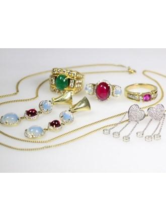 Ювелирные украшения Золото 585/750 Бриллианты Изумруд