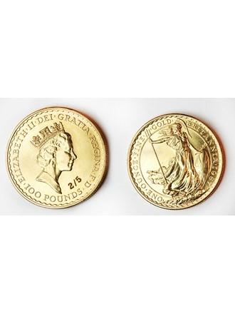 """Монета Британия Золото 900"""""""