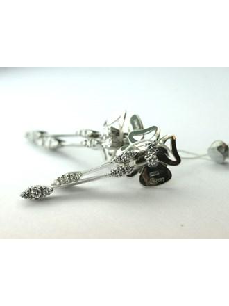 Пусеты Золото 750 Бриллианты