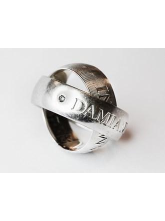 Кольцо Золото 750 Бриллианты DAMIANI