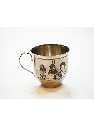"Чашка Серебро 925"""