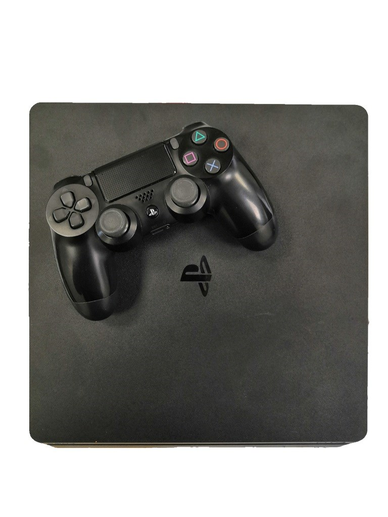 Игровая приставка Sony PlayStation 4 Slim.