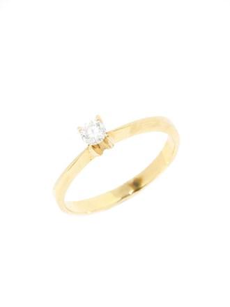 Кольцо с бриллиатом