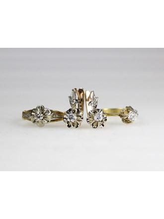 Ювелирные крашения. Золото 585/750. Бриллианты