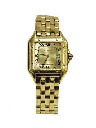 Часы с браслетом CARTIER КОПИЯ