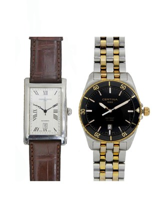 Часы Frederic Constant и Certina