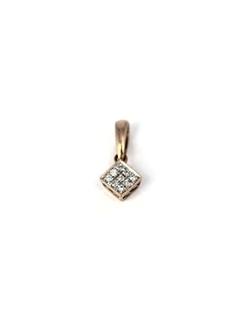 Кулон бриллианты