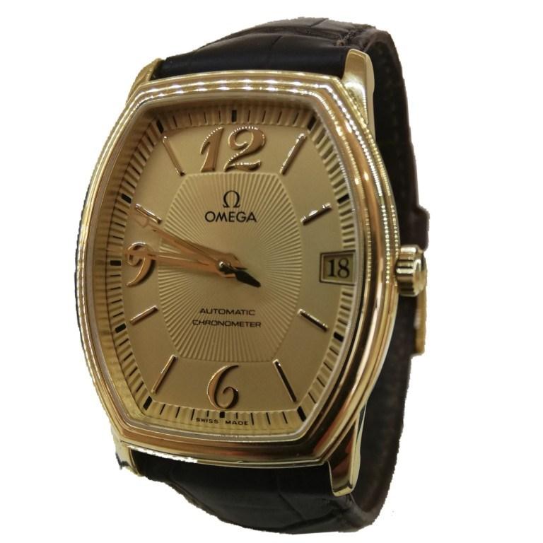 Часы Omega  De Ville золото