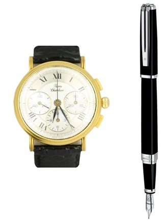 Ручка и наручные часы