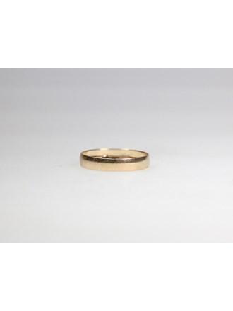 Кольцо обручальное. Золото 585.