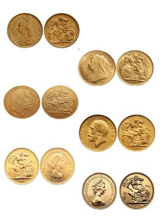 Золотые инвестиционные монеты Великобритании