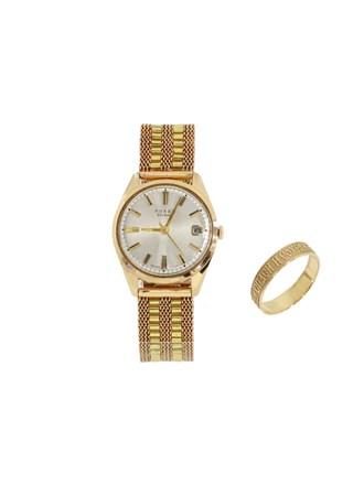 """Часы Кольцо Золото 583"""""""