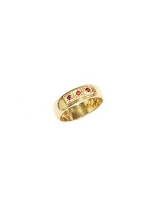 """Кольцо Золото 583"""" Корунды"""